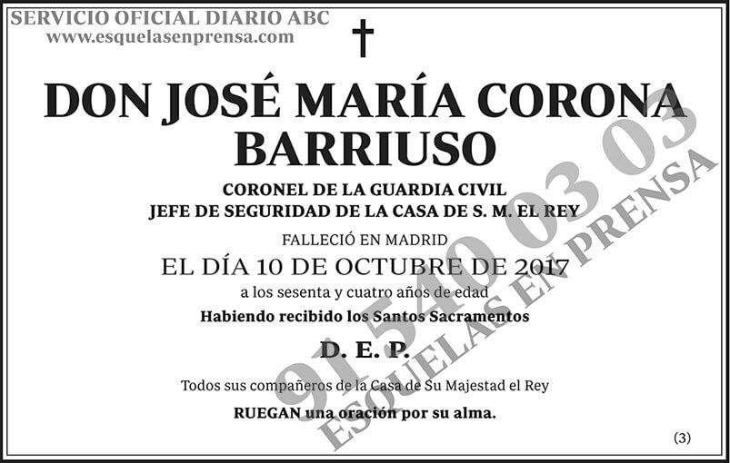 José María Corona Barriuso